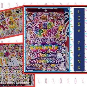 Lisa Frank Sticker booklet Stickers